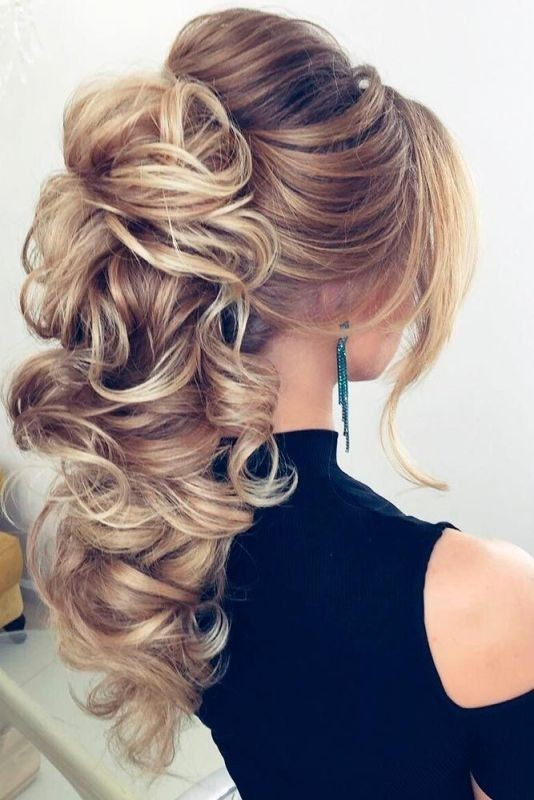 wedding-hairstyles-2017-65 81+ Beautiful Wedding Hairstyles for Elegant Brides in 2020