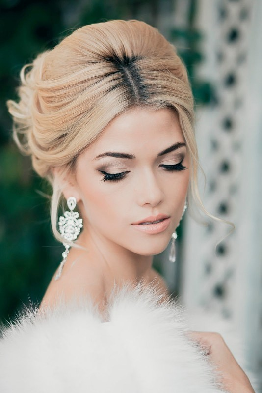 wedding-hairstyles-2017-67 81+ Beautiful Wedding Hairstyles for Elegant Brides in 2020