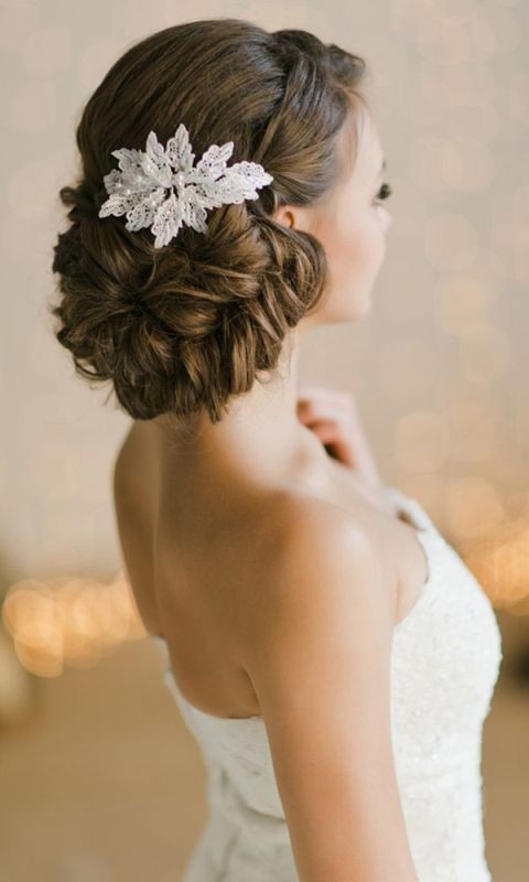 wedding-hairstyles-2017-7 81+ Beautiful Wedding Hairstyles for Elegant Brides in 2020