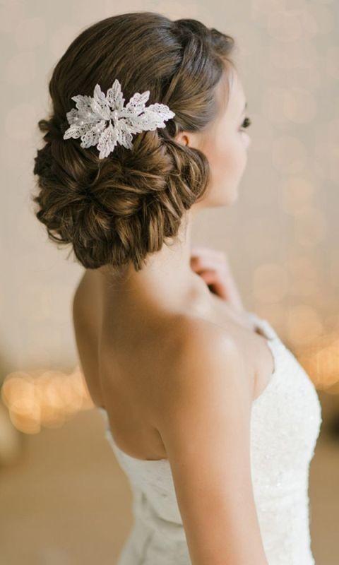 wedding-hairstyles-2017-7 81+ Beautiful Wedding Hairstyles for Elegant Brides in 2018