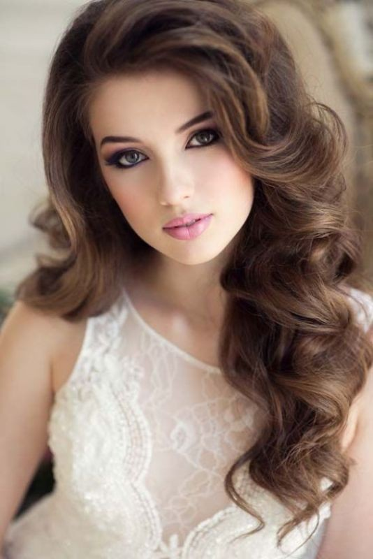 wedding-hairstyles-2017-71 81+ Beautiful Wedding Hairstyles for Elegant Brides in 2018