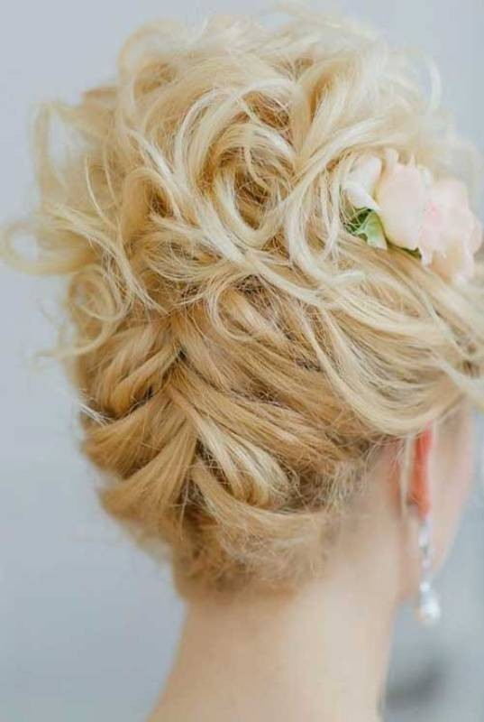 wedding-hairstyles-2017-73 81+ Beautiful Wedding Hairstyles for Elegant Brides in 2020