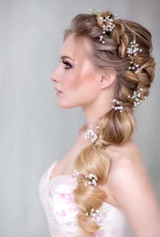 wedding-hairstyles-2017-77 81+ Beautiful Wedding Hairstyles for Elegant Brides in 2018