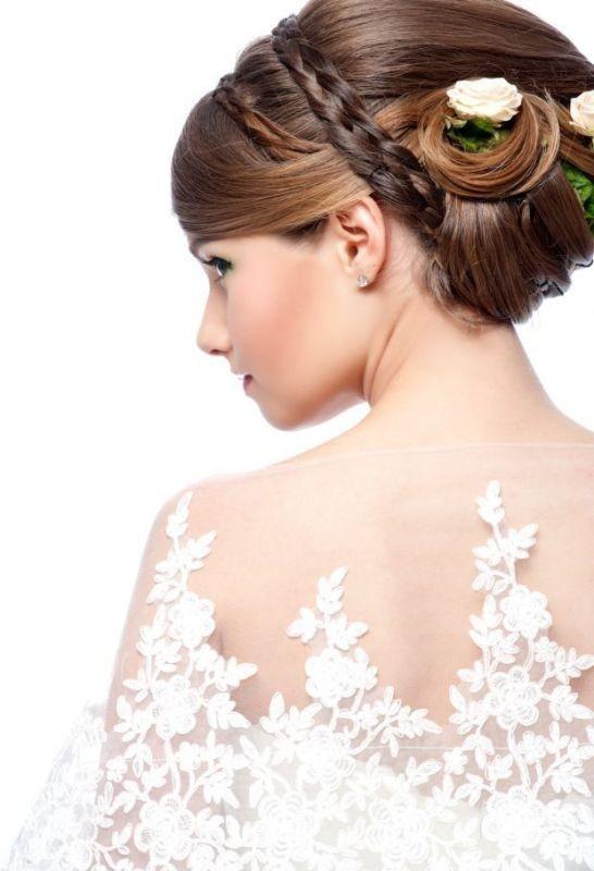 wedding-hairstyles-2017-78 81+ Beautiful Wedding Hairstyles for Elegant Brides in 2018