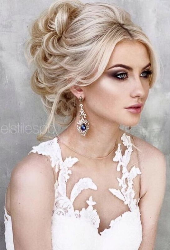 wedding-hairstyles-2017-79 81+ Beautiful Wedding Hairstyles for Elegant Brides in 2018