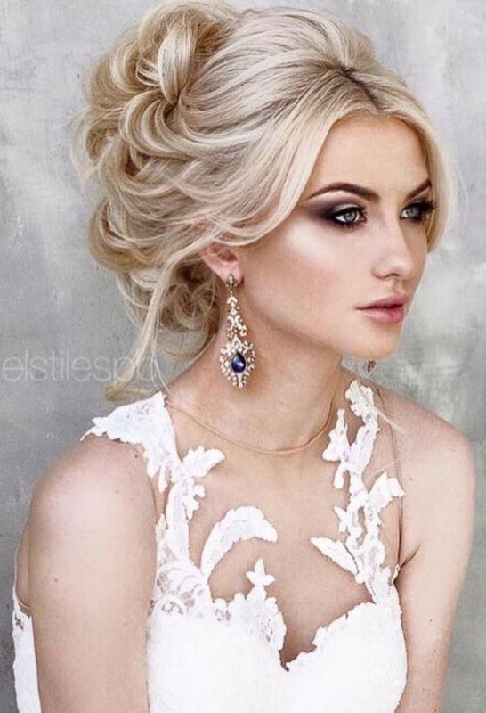 wedding-hairstyles-2017-79 81+ Beautiful Wedding Hairstyles for Elegant Brides in 2020