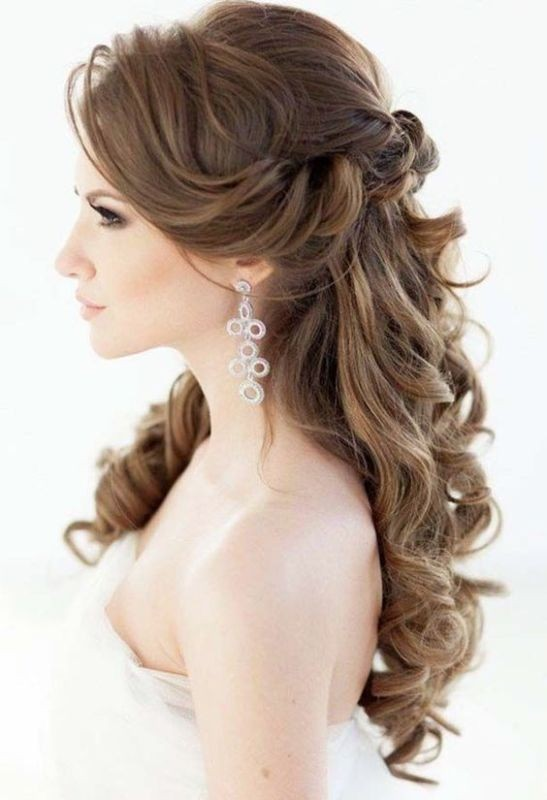 wedding-hairstyles-2017-80 81+ Beautiful Wedding Hairstyles for Elegant Brides in 2020