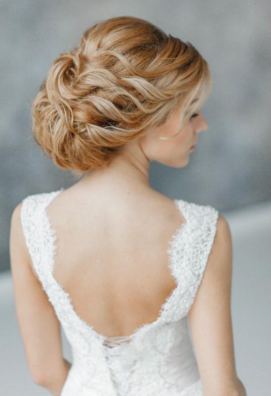 wedding-hairstyles-2017-81 81+ Beautiful Wedding Hairstyles for Elegant Brides in 2020