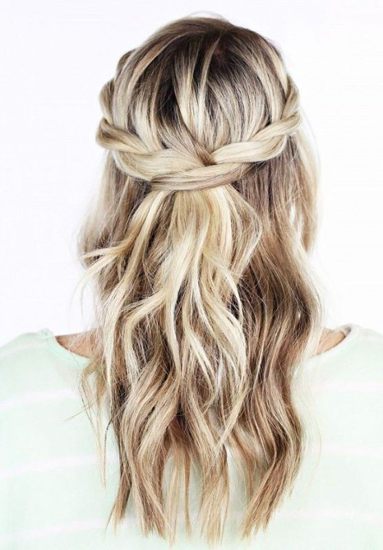 wedding-hairstyles-2017-86 81+ Beautiful Wedding Hairstyles for Elegant Brides in 2018