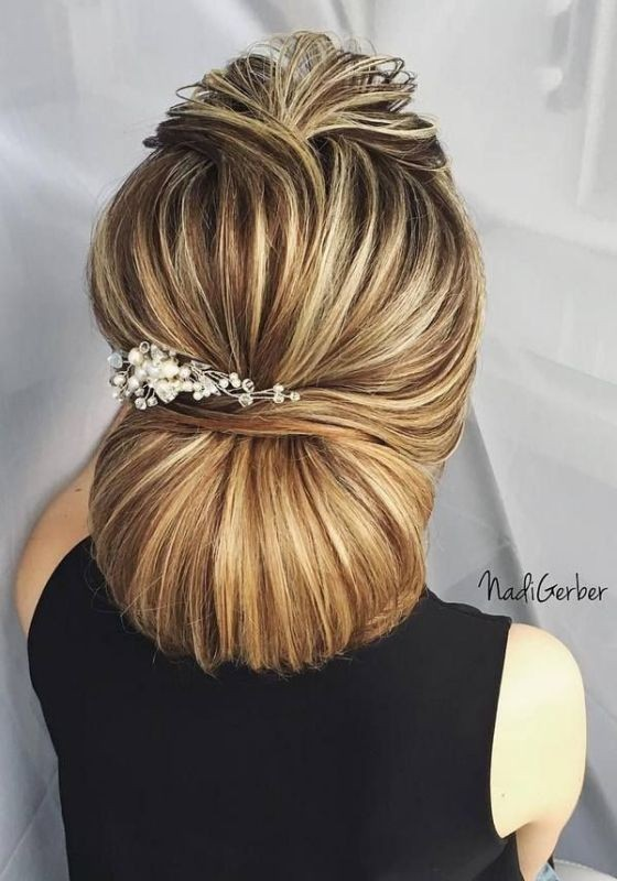 wedding-hairstyles-2017-87 81+ Beautiful Wedding Hairstyles for Elegant Brides in 2020