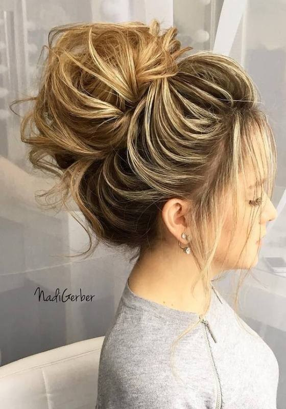 wedding-hairstyles-2017-88 81+ Beautiful Wedding Hairstyles for Elegant Brides in 2020