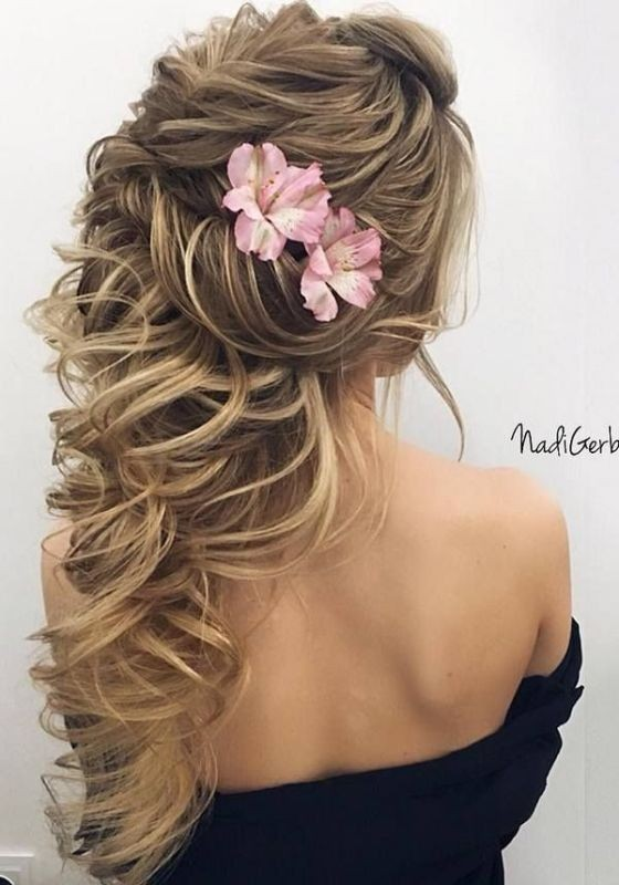 wedding-hairstyles-2017-89 81+ Beautiful Wedding Hairstyles for Elegant Brides in 2020