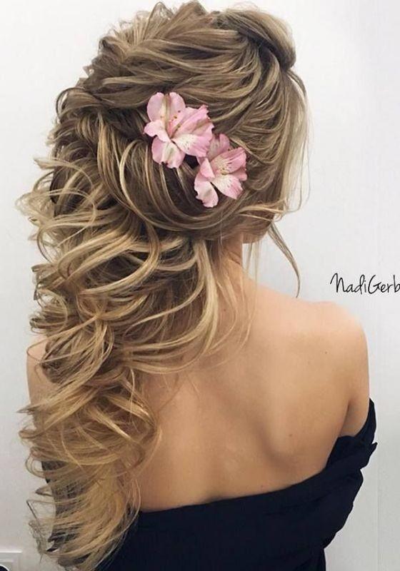 wedding-hairstyles-2017-89 81+ Beautiful Wedding Hairstyles for Elegant Brides in 2018