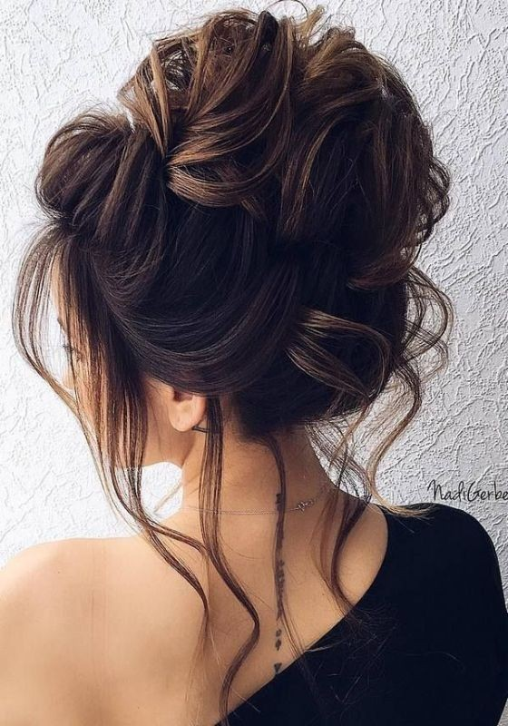 wedding-hairstyles-2017-90 81+ Beautiful Wedding Hairstyles for Elegant Brides in 2020