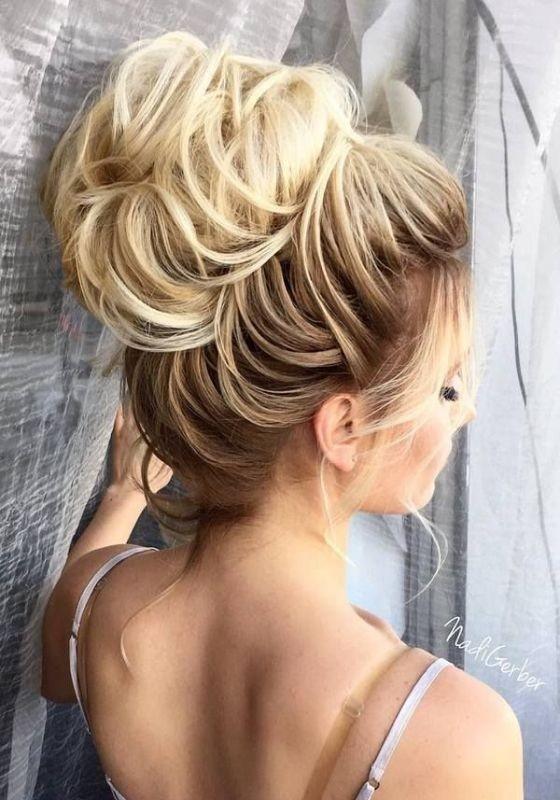 wedding-hairstyles-2017-92 81+ Beautiful Wedding Hairstyles for Elegant Brides in 2018