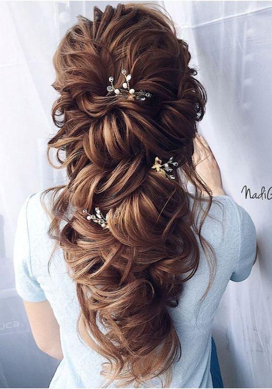 wedding-hairstyles-2017-93 81+ Beautiful Wedding Hairstyles for Elegant Brides in 2020