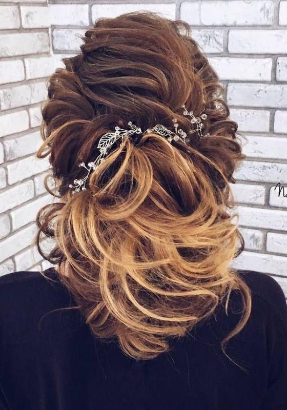 wedding-hairstyles-2017-94 81+ Beautiful Wedding Hairstyles for Elegant Brides in 2018