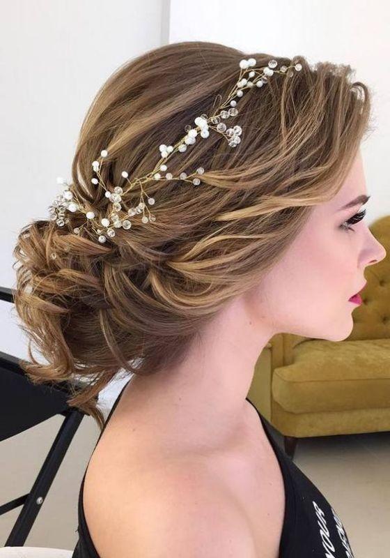 wedding-hairstyles-2017-95 81+ Beautiful Wedding Hairstyles for Elegant Brides in 2020