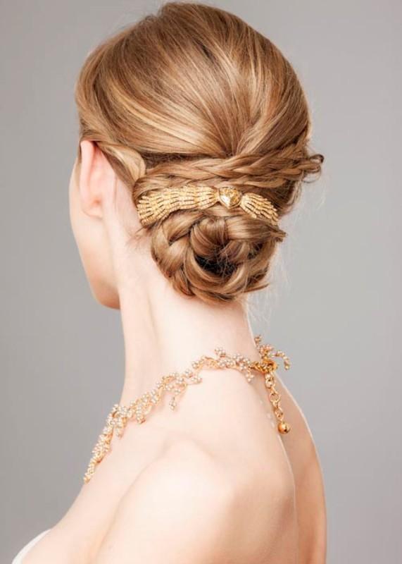 wedding-hairstyles-2017-96 81+ Beautiful Wedding Hairstyles for Elegant Brides in 2018
