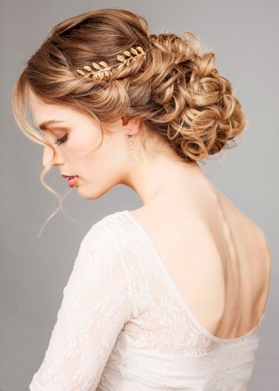 wedding-hairstyles-2017-97 81+ Beautiful Wedding Hairstyles for Elegant Brides in 2020