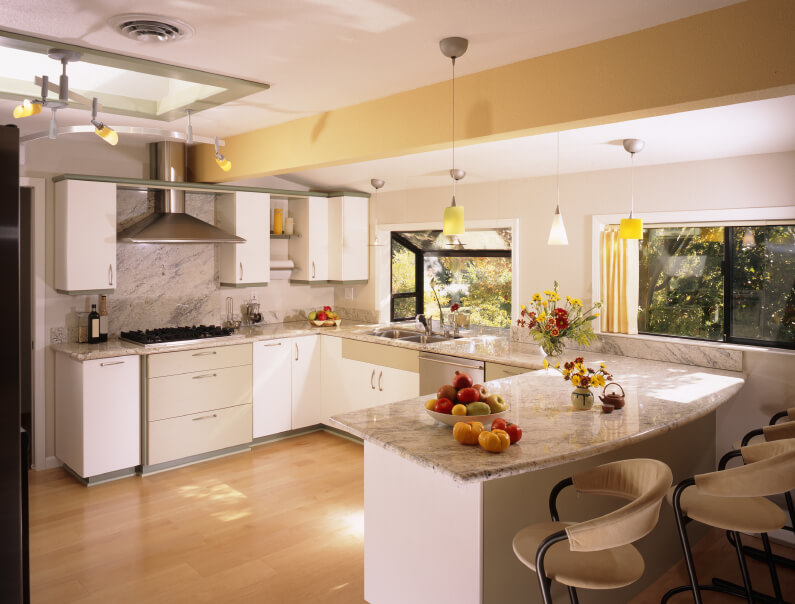 2-white-kitchen-light-and-honey-woo Great Ways to Make Your Dream Green Kitchen