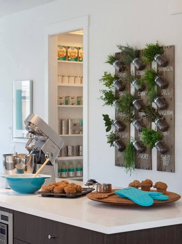 30-Awesome-Indoor-Garden-Planting-Projects-To-Start-In-The-New-Year-19 Great Ways to Make Your Dream Green Kitchen