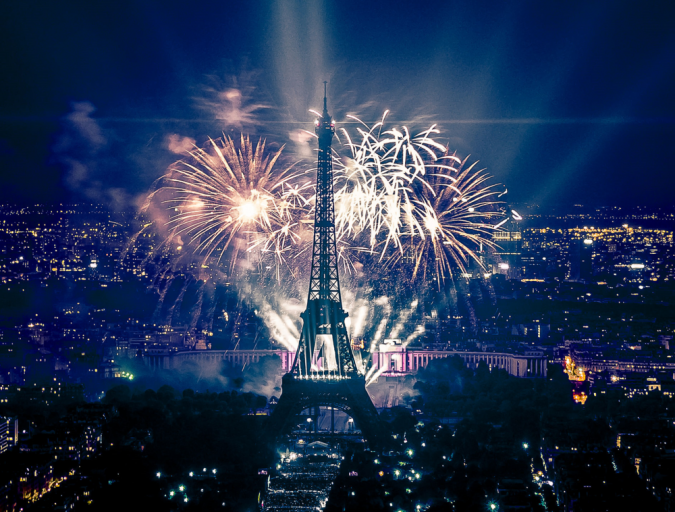 Eiffel-Tower-Fireworks-New-YearsEveinParis-675x512 New Year around the World.. One Event, Various Traditions