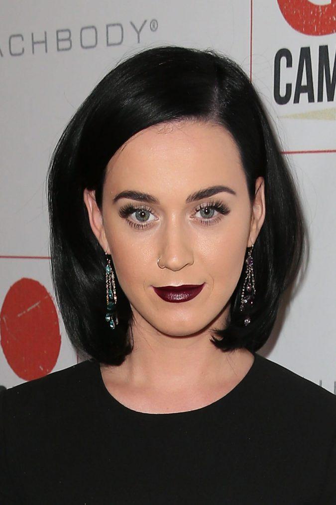 Goth-brown-dark-brunette-hair-katy_perry-675x1013 16 Celebrity Hottest Hair Trends for Summer 2020