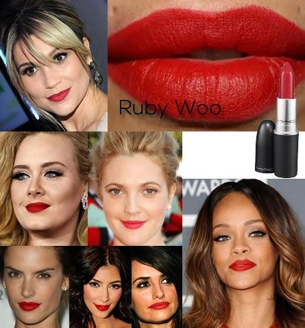 Mac-Ruby-Woo 18 Best-selling makeup products of all time