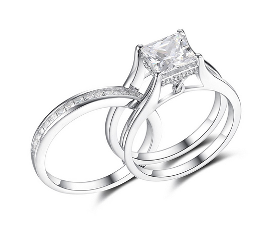 Princess-Cut-Gemstone-925-Sterling-Silver-Engagement-Ring-500400 Lajerrio Disclose Top 10 Elegant Jewelry Trends to Go for in 2020