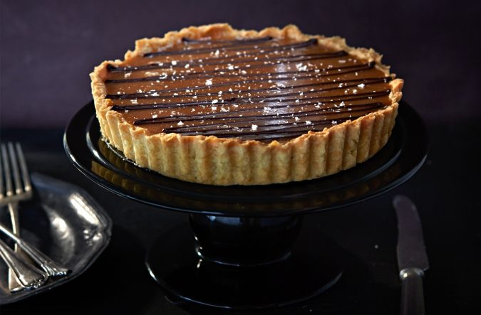 Salted-Almond-Truffle-Tart-675x443 25 Romantic Chocolate Treats for the Valentine's Day