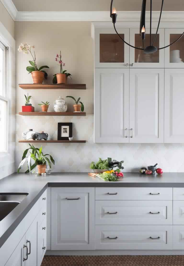 add-plants-in-the-kitchen Great Ways to Make Your Dream Green Kitchen