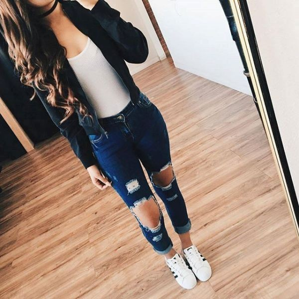 back-to-school-outfit-ideas-4 10+ Cool Back-to-School Outfit Ideas for 2020