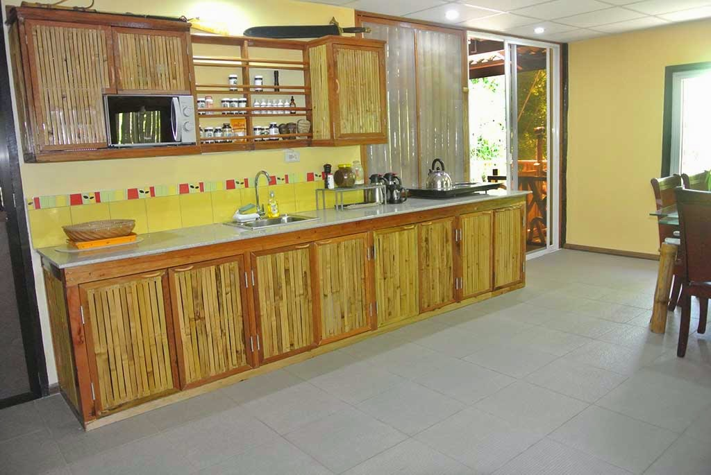 bamboo-kitchen-cupboards Great Ways to Make Your Dream Green Kitchen