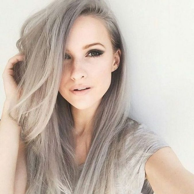 blonde-silver-hairstyle-675x675 16 Celebrity Hottest Hair Trends for Summer 2017