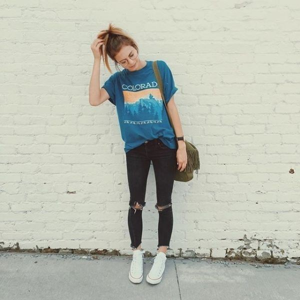 catchy-tees-for-school-21 10+ Cool Back-to-School Outfit Ideas for 2017/2018