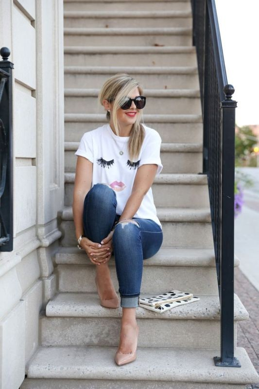catchy-tees-for-school-4 10+ Cool Back-to-School Outfit Ideas for 2020