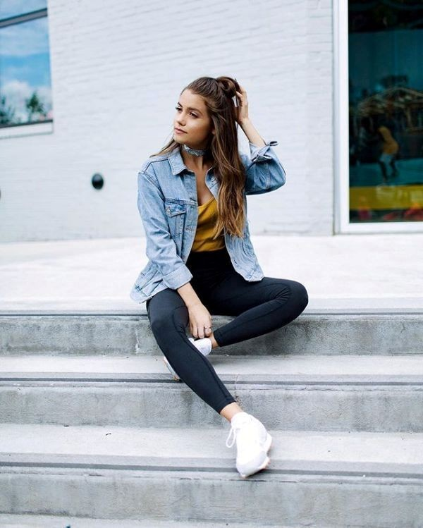 denim-jackets-for-school-11 10+ Cool Back-to-School Outfit Ideas for 2018