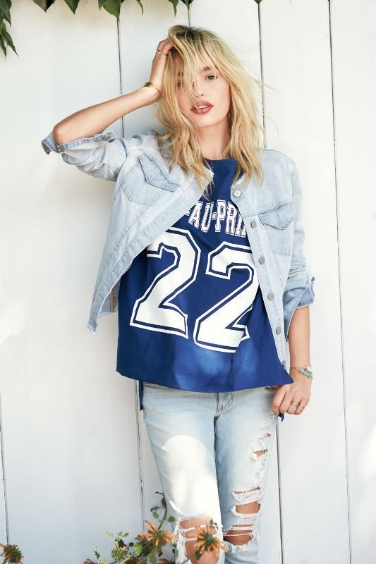 denim-jackets-for-school-5 10+ Cool Back-to-School Outfit Ideas for 2020