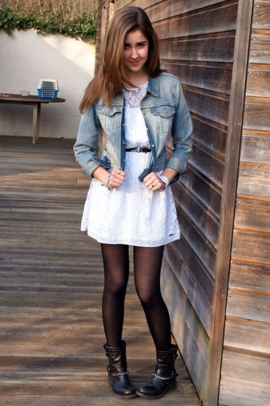 denim-jackets-for-school-6 10+ Cool Back-to-School Outfit Ideas for 2018