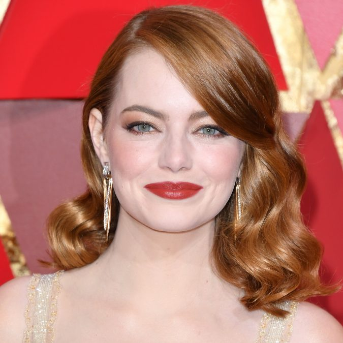 emma-stone-oscars-2017-red-carpet-675x675 16 Celebrity Hottest Hair Trends for Summer 2017