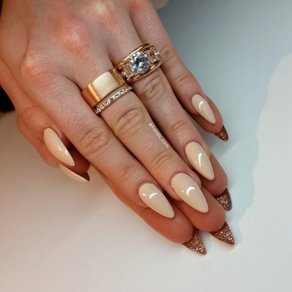 glitter-nail-art-ideas-100 89+ Glitter Nail Art Designs for Shiny & Sparkly Nails