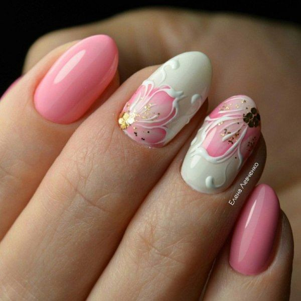 glitter-nail-art-ideas-103 89+ Glitter Nail Art Designs for Shiny & Sparkly Nails
