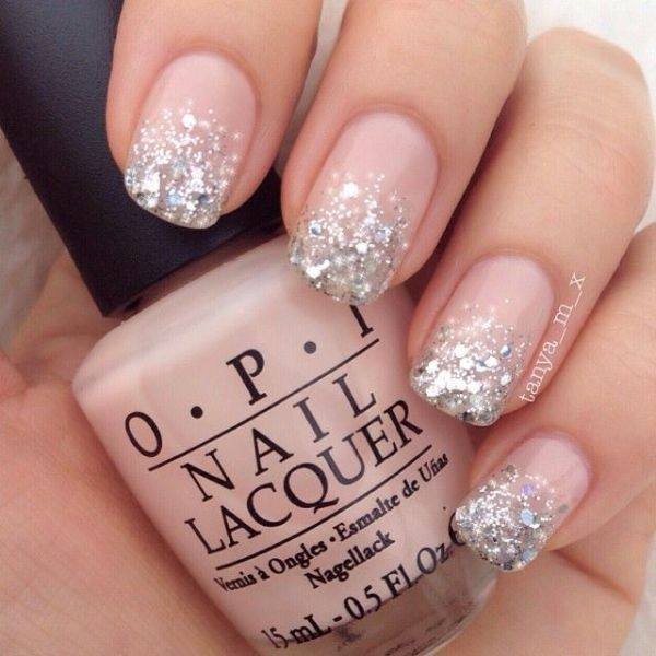 glitter-nail-art-ideas-104 89+ Glitter Nail Art Designs for Shiny & Sparkly Nails