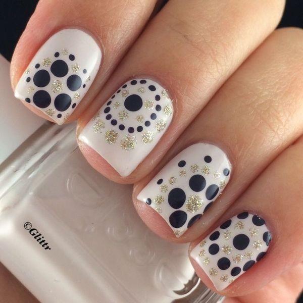 glitter-nail-art-ideas-107 89+ Glitter Nail Art Designs for Shiny & Sparkly Nails