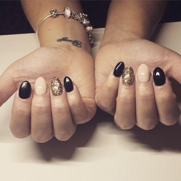 glitter-nail-art-ideas-110 89+ Glitter Nail Art Designs for Shiny & Sparkly Nails