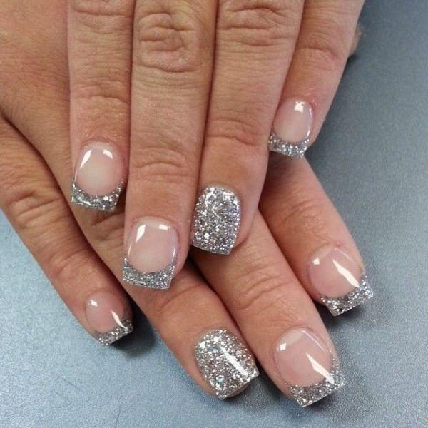 glitter-nail-art-ideas-112 89+ Glitter Nail Art Designs for Shiny & Sparkly Nails