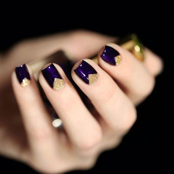 glitter-nail-art-ideas-114 89+ Glitter Nail Art Designs for Shiny & Sparkly Nails