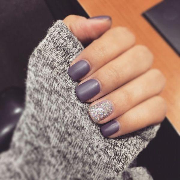 glitter-nail-art-ideas-115 89+ Glitter Nail Art Designs for Shiny & Sparkly Nails