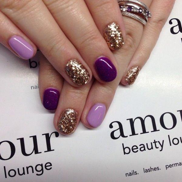 glitter-nail-art-ideas-118 89+ Glitter Nail Art Designs for Shiny & Sparkly Nails